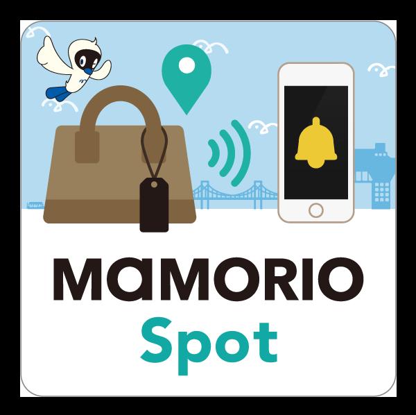 「MAMORIO Spotステッカー(ゆりかもめバージョン)」