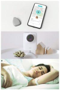 CES2019でのベビーテック商品例:児童向けGPS、睡眠見守りカメラ、女性の身体リズム記録デバイス