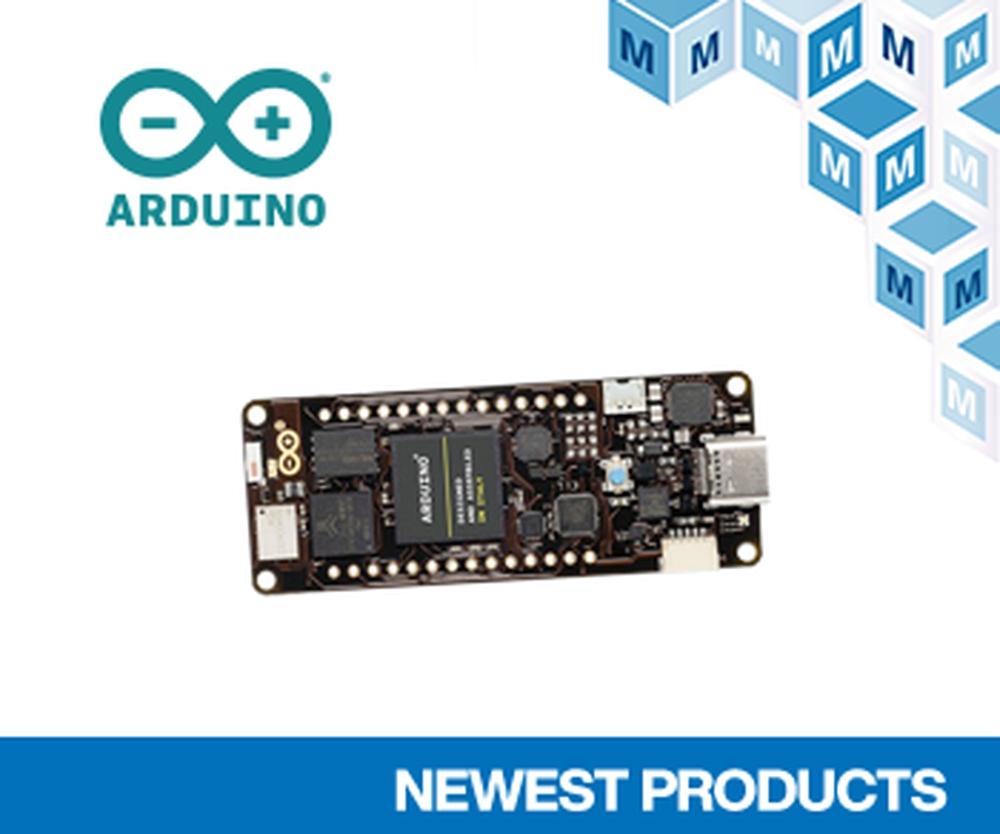 マウザー、産業市場向け高性能ボードArduino Portenta H7の取り扱いを ...